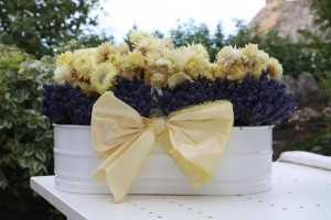 Basket of Flowers | JacobsFieldLavender.net